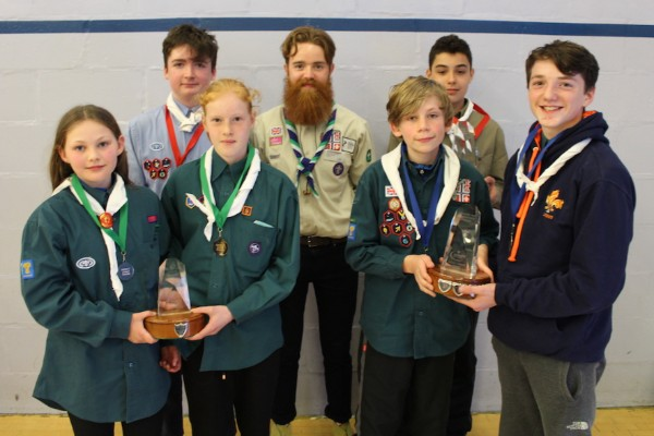 Cheshire Scouts+ 52nd Cheshire Hike 2018 Special