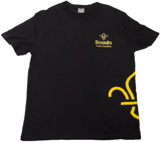 Cheshire Scouts T-shirt